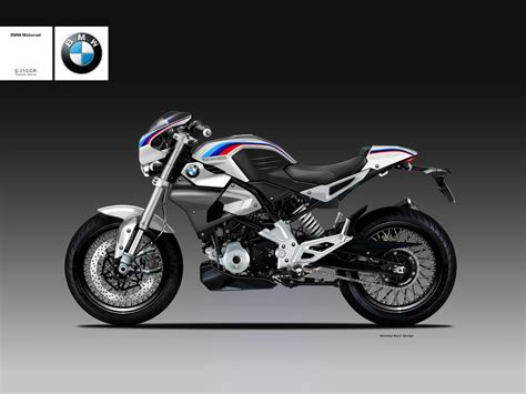 bmws baby   cafe racer  rendered top speed