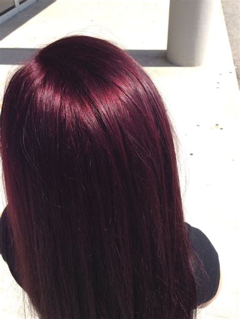 plum burgyndy bob hairstyle 474 best images about hair on pinterest highlights and