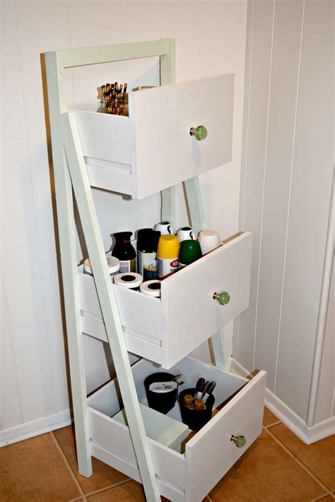Uses For Dresser Drawers by Hometalk Diy Ladder Shelf From Old Repurposed Drawers