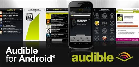 free audible books for android audible get insider information free apps android