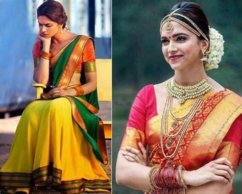 deepika padukone in chennai express the gorgeous deepika padukone in saree