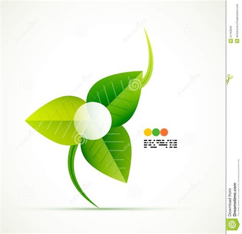 design concept leaf green leaf vector concept stock photo image 31163840