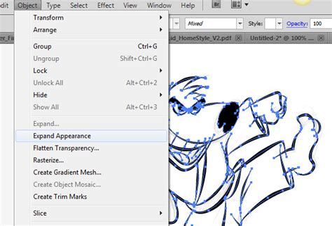 pattern illustrator expand ultimate inking and coloring tutorial for adobe