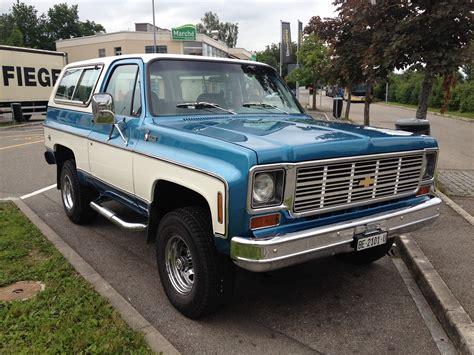Chevy K5 Blazer by Chevrolet Blazer K5 1978 Maintenance Restoration Of