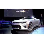 2016 Chevy Camaro SS Convertible World Debut Video