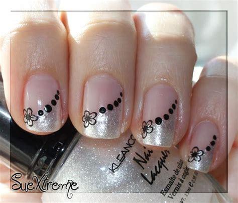 imagenes de uñas en blanco y plata 17 mejores ideas sobre manicura francesa en pinterest