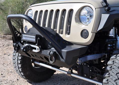 jeep jk stinger bumper nighthawk front bumper with mid stinger for jeep
