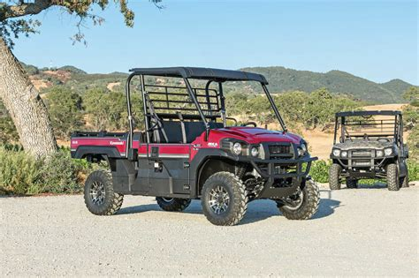 most reliable side by side utv 2016 kawasaki mule pro fx and pro fxt utv review atv