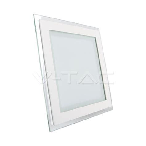 Lu Led Starlux Panel 6 12w paneles led 12w led panel downlight cristal cuadrado