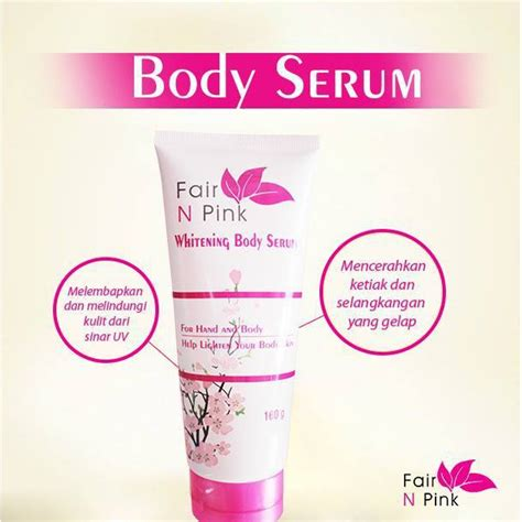 Fair N Pink Serum 160ml fair n pink whitening serum 160ml shopee indonesia