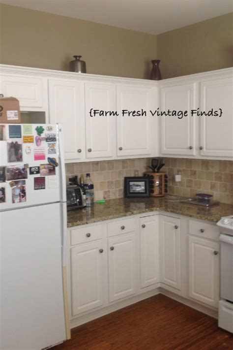 Painting Thermofoil Kitchen Cabinets Painting Thermofoil Cabinets With Sloan Part 1 Farm Fresh Vintage Finds