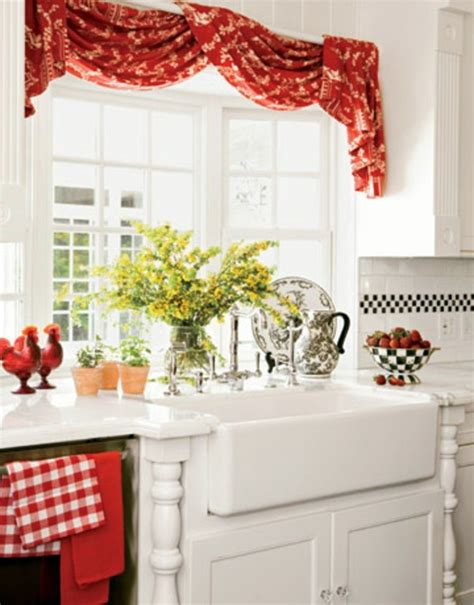the right kitchen curtains 18 designs for a cozy