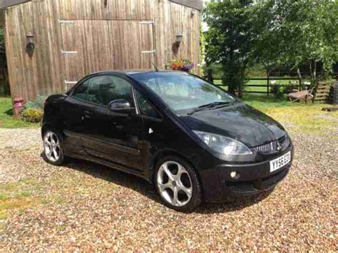 mitsubishi colt turbo interior mitsubishi colt convertible czc turbo black 12mths mot