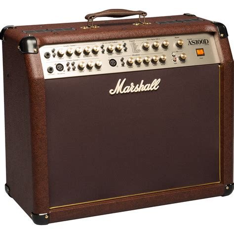Marshall As100d 100w 2x8 Acoustic Guitar Combo marshall lification as100d 100w 4 channel 2x8 acoustic