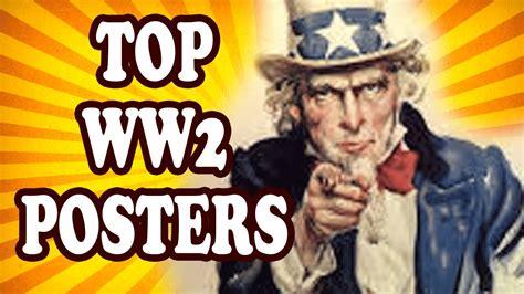 top 10 wwii propaganda posters youtube