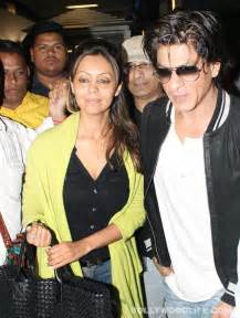Is all well between Shahrukh Khan and wife Gauri ...