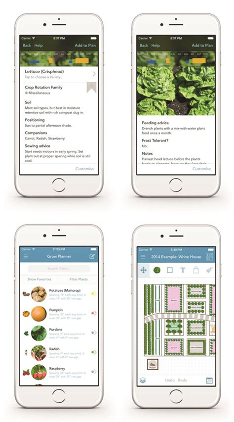 time planner for iphone helps you plan your day and mother earth news grow planner app for ipad and iphone