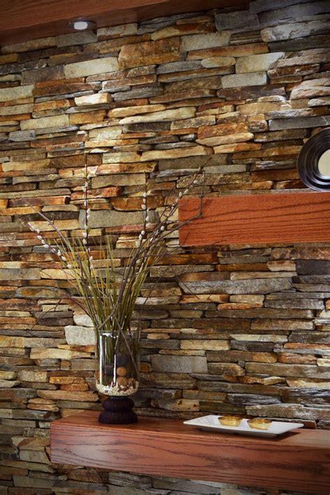 cinnamon bark ledgestone interior stone veneer buechel