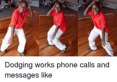 what are dodging numbers dodging works phone calls and messages like phone meme