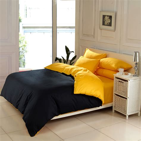 minimalist bedding contrast color solid color bedding sets queen king size