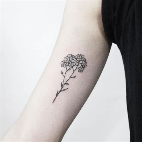 small forget me not tattoo forget me not meaning and most beautiful ideas for