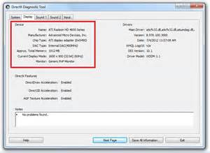 how to find your graphics card details windows 7 8 xp