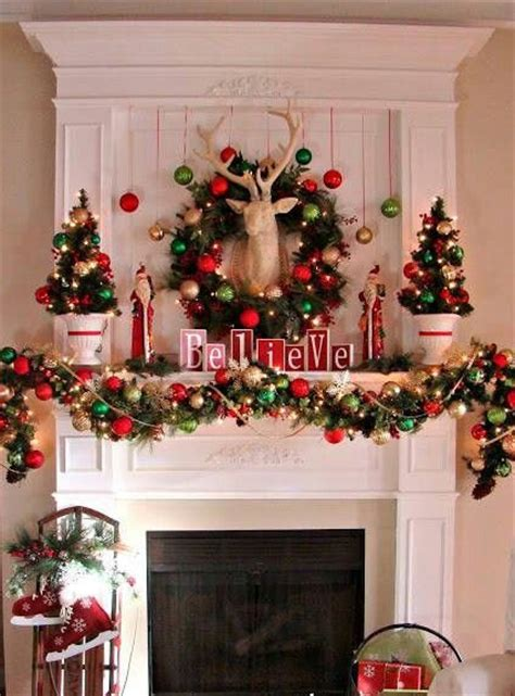 decorate picture stealing christmas recreate holiday mantel displays