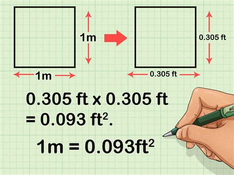 Meter Squared To Feet Squared | how to convert square meters to square feet and vice versa