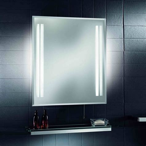 bathroom mirrors with built in lights 17 superior bathroom mirrors with lights and shaver socket