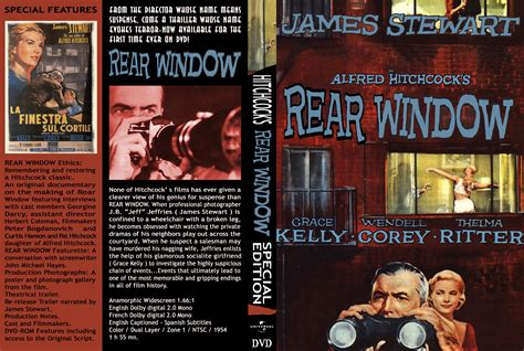 window cover rear window movie dvd front covers