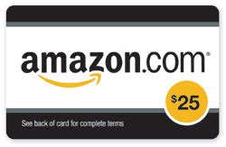 Capital One Amazon Gift Card - october giveaway 25 amazon gift card