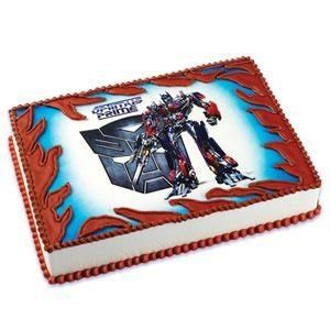 amazon com transformers optimus prime edible cake