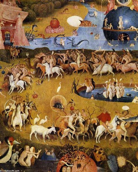 trittico giardino delle delizie trittico giardino delle delizie detail 47 olio su