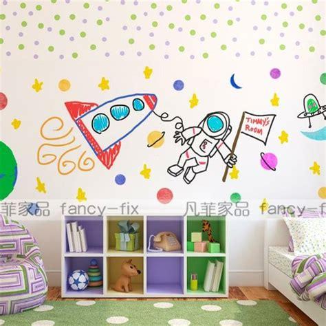 Wallpaper Sticker Dinding Motif Biru Garis Gelombang toko jual wall sticker di yogyakarta stiker dinding murah