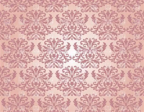 seamless pattern pink free seamless pink damask pattern vector clipart image 20227