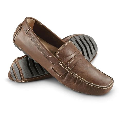 mens brown loafer shoes s florsheim roadster loafers brown chestnut