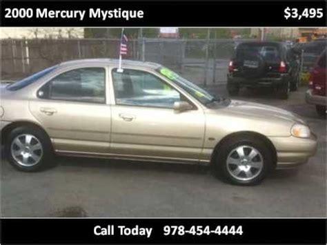 free car manuals to download 2000 mercury mystique lane departure warning 2000 mercury mystique problems online manuals and repair information