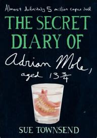 How To Make A Secret Diary Out Of Paper - the secret diary of adrian mole aged 13 3 4 by sue