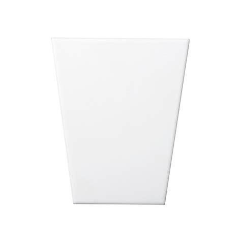 10 X 8 White Ceramic Tile by Emser Vertigo White Chevron 10 In X 30 In Ceramic Wall