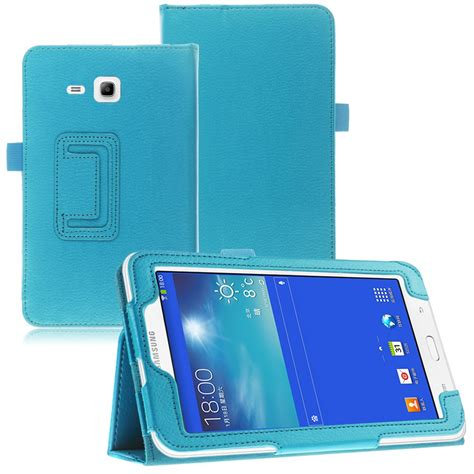 Cover Galaxy Tab 3 Lite flip leather stand cover for samsung galaxy tab 3
