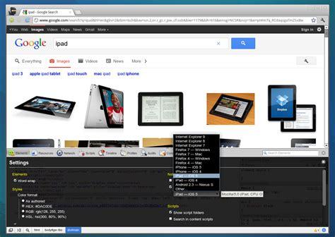 chrome ua spoofer google chrome now comes with a built in user agent spoofer