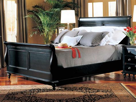 Durham Furniture Savile Row 4 Piece Sleigh Bedroom Set In Furniture Row Bedroom Sets