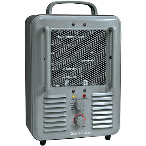 comfort heaters comfort zone cz798 deluxe milkhouse utility heater