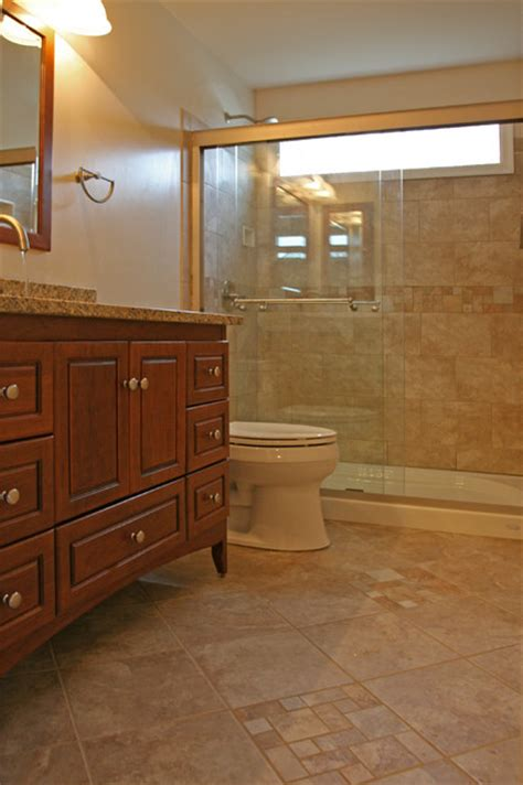 Traditional Bathroom Tile Ideas Small Bathroom Ideas Traditional Bathroom Dc Metro By Bathroom Tile Shower Shelves