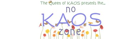 Kaos Time To Clean Your no kaos zone simple housework system