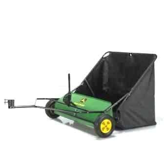 john deere 42 in. 24 cu. ft. tow behind lawn sweeper sts