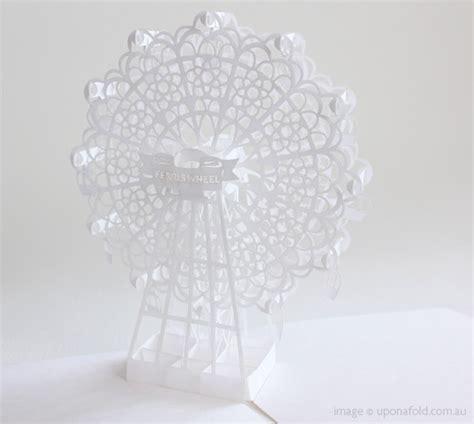 Ferris Wheel Pop Up Card Template by Ferris Wheel Pop Up Card By Japanese Paper Artist Hiroko