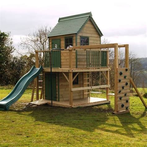 how to build a climbing frame with swing and slide playhouse climbing frame wooden climbing frames raised