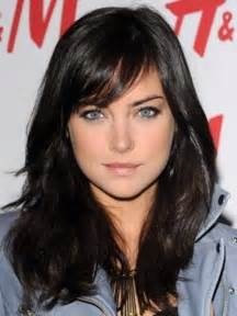 hair sweeped side fringe 30 long hair with side swept bangs long hairstyles 2016