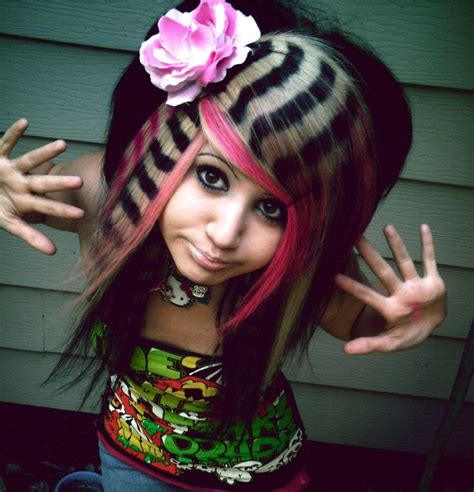 emo culture hairstyles 15 craziest hairstyles her hair hair color ideas and emo